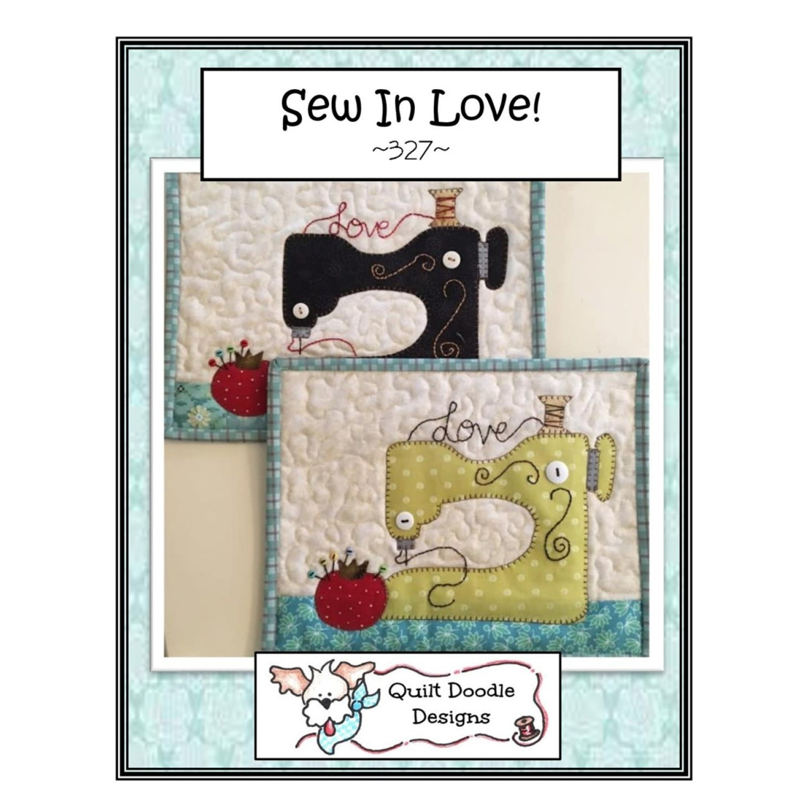 Quilt Doodle Designs Sew In Love Mug Rug