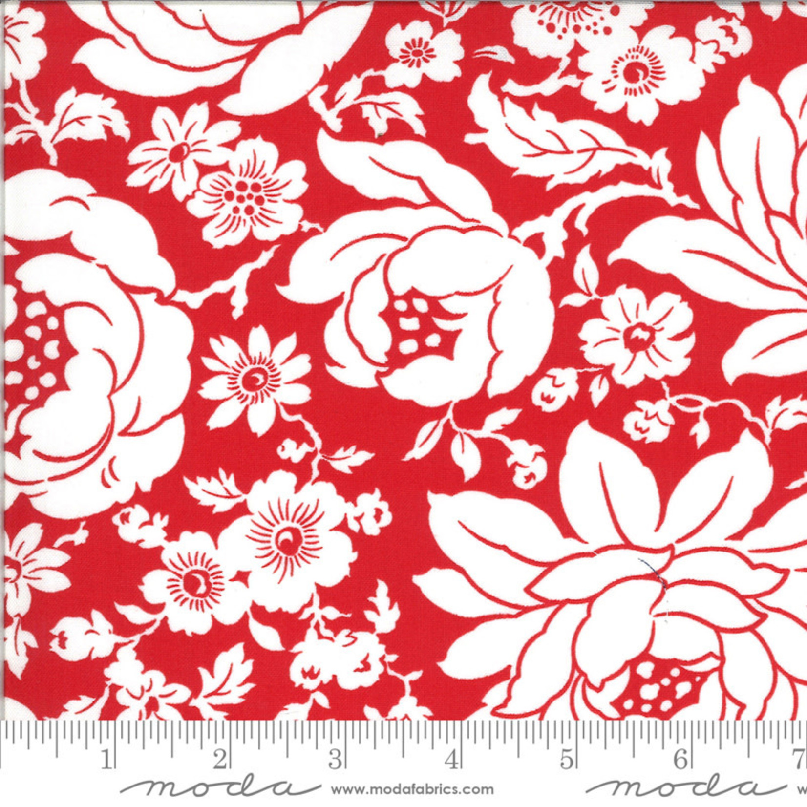 BONNIE & CAMILLE Shine On by Bonnie & Camille, MUMS, RED 55210-11 PER CM OR