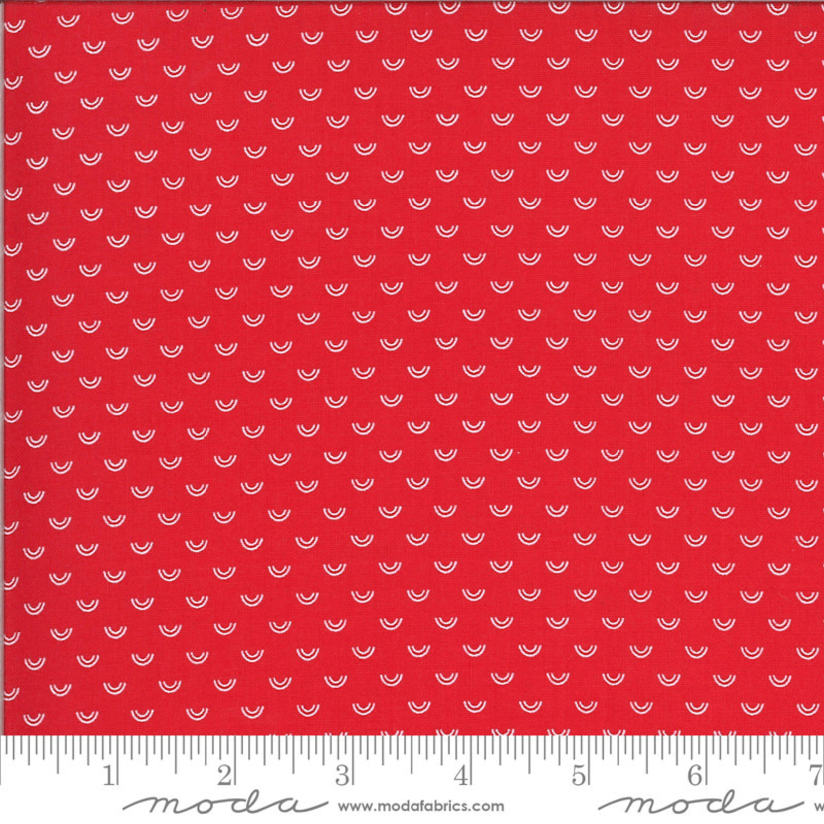 BONNIE & CAMILLE Shine On by Bonnie & Camille, OVER RAINBOW, RED 55218-11 PER CM OR