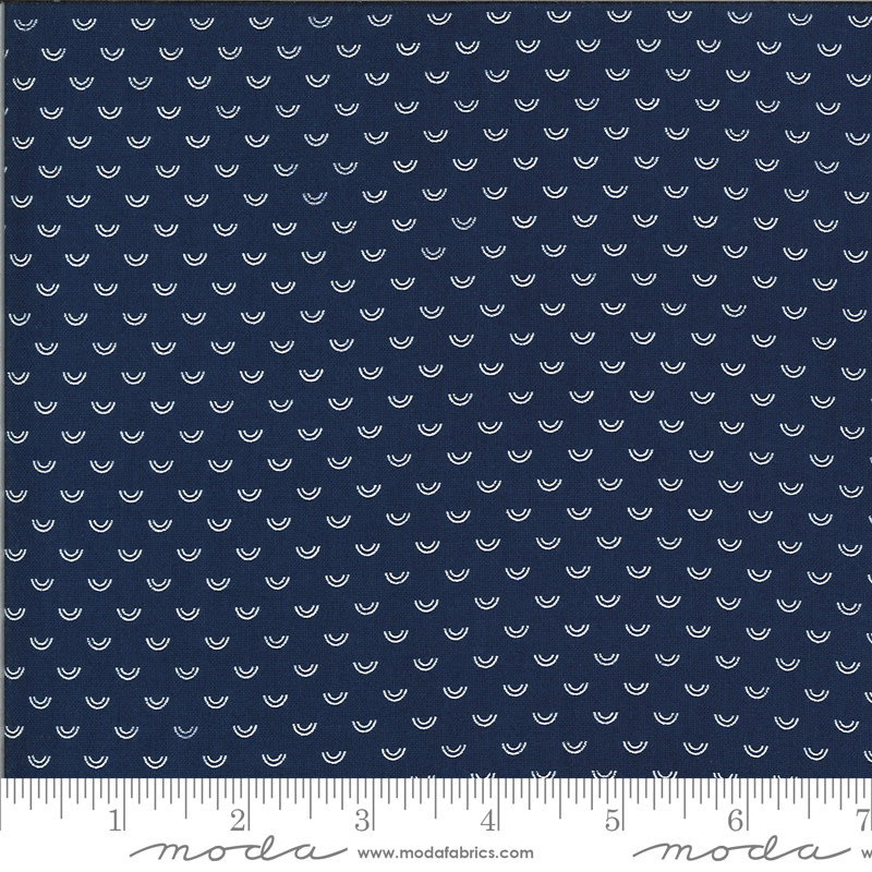 BONNIE & CAMILLE Shine On by Bonnie & Camille, OVER RAINBOW, NAVY 55218-17 PER CM OR