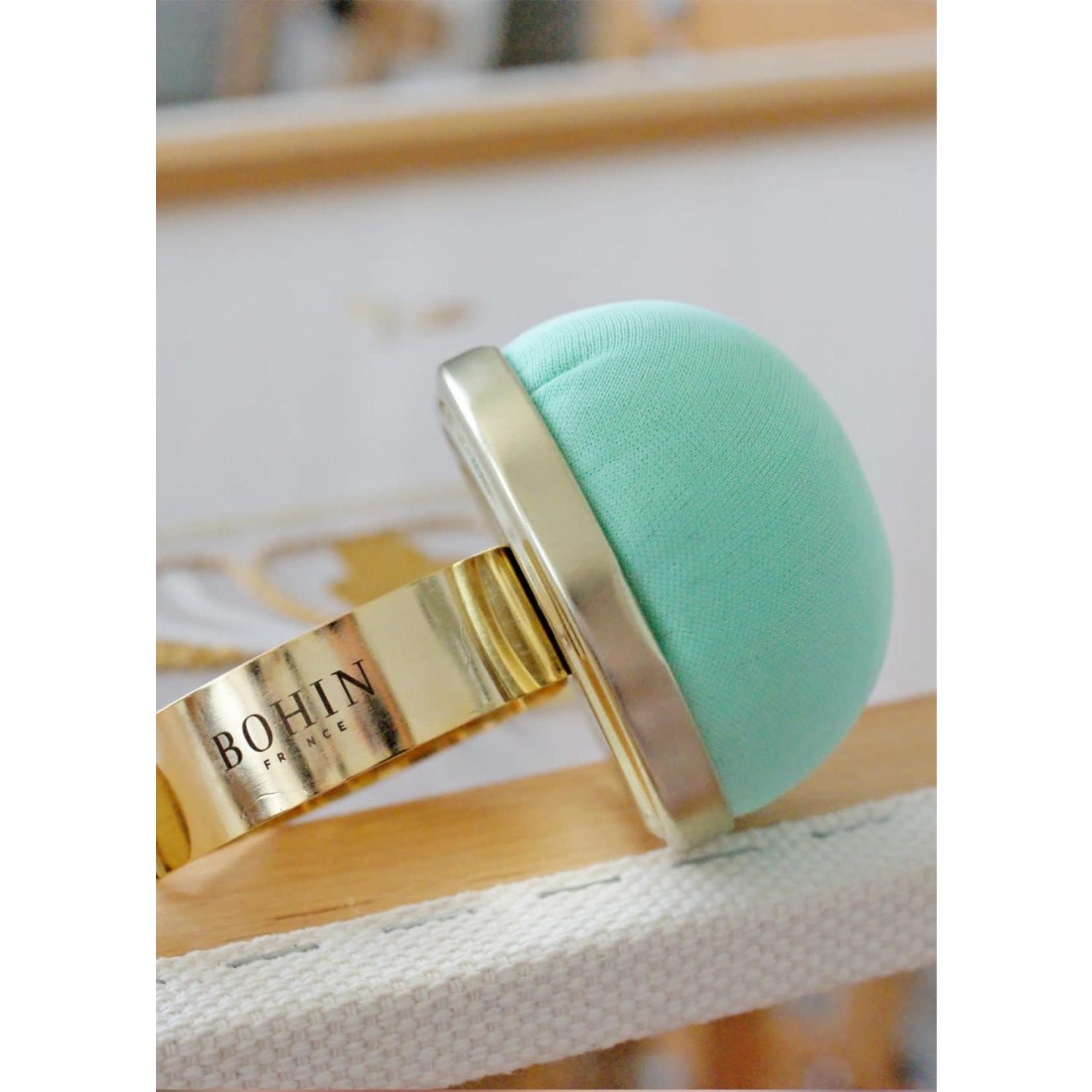 Bohin Pin Cushion with Gilt Bracelet