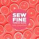 Sew Fine Sew Fine Thread Gloss: Ruby Grapefruit 0.5 oz