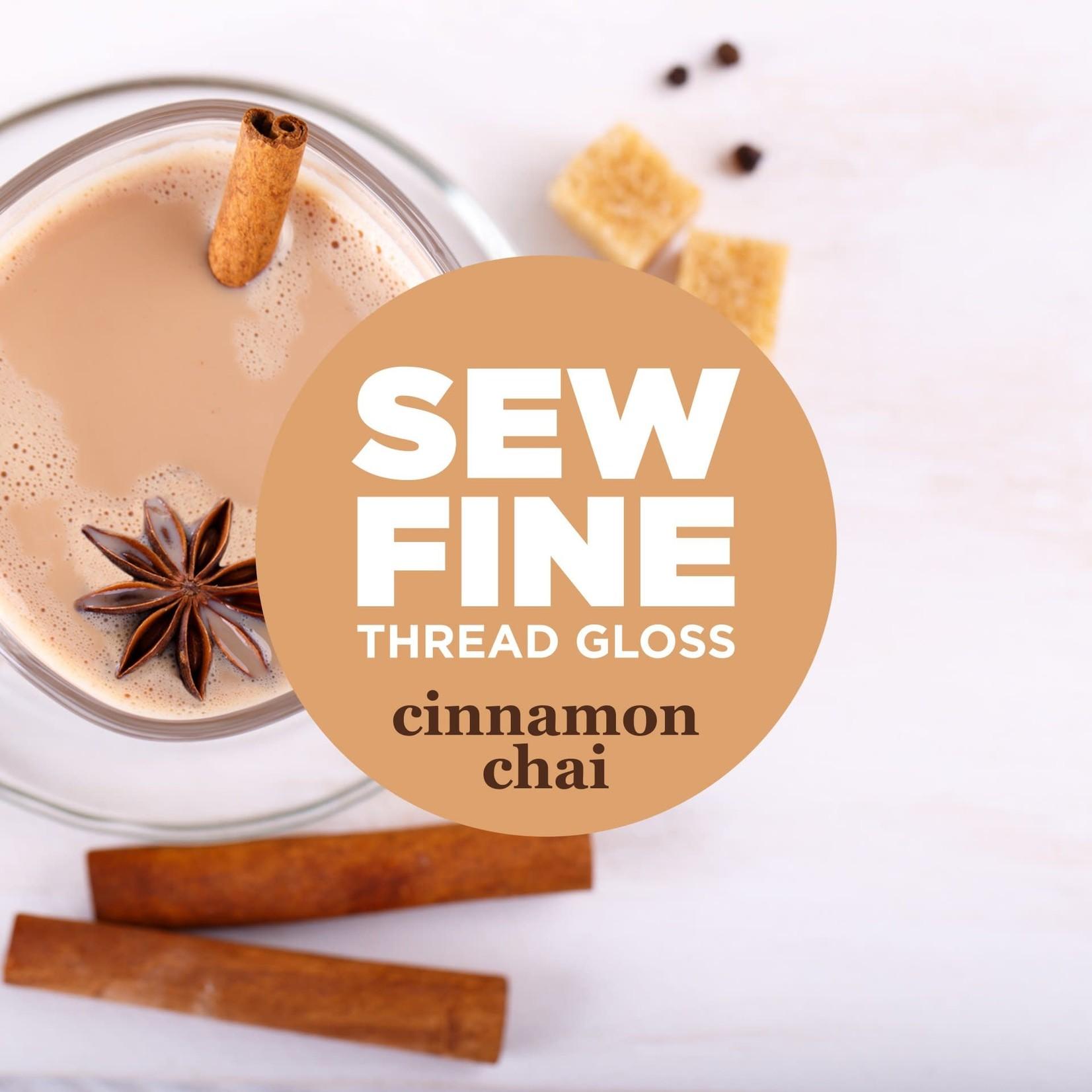Sew Fine Sew Fine Thread Gloss: Cinnamon Chai 0.5 oz