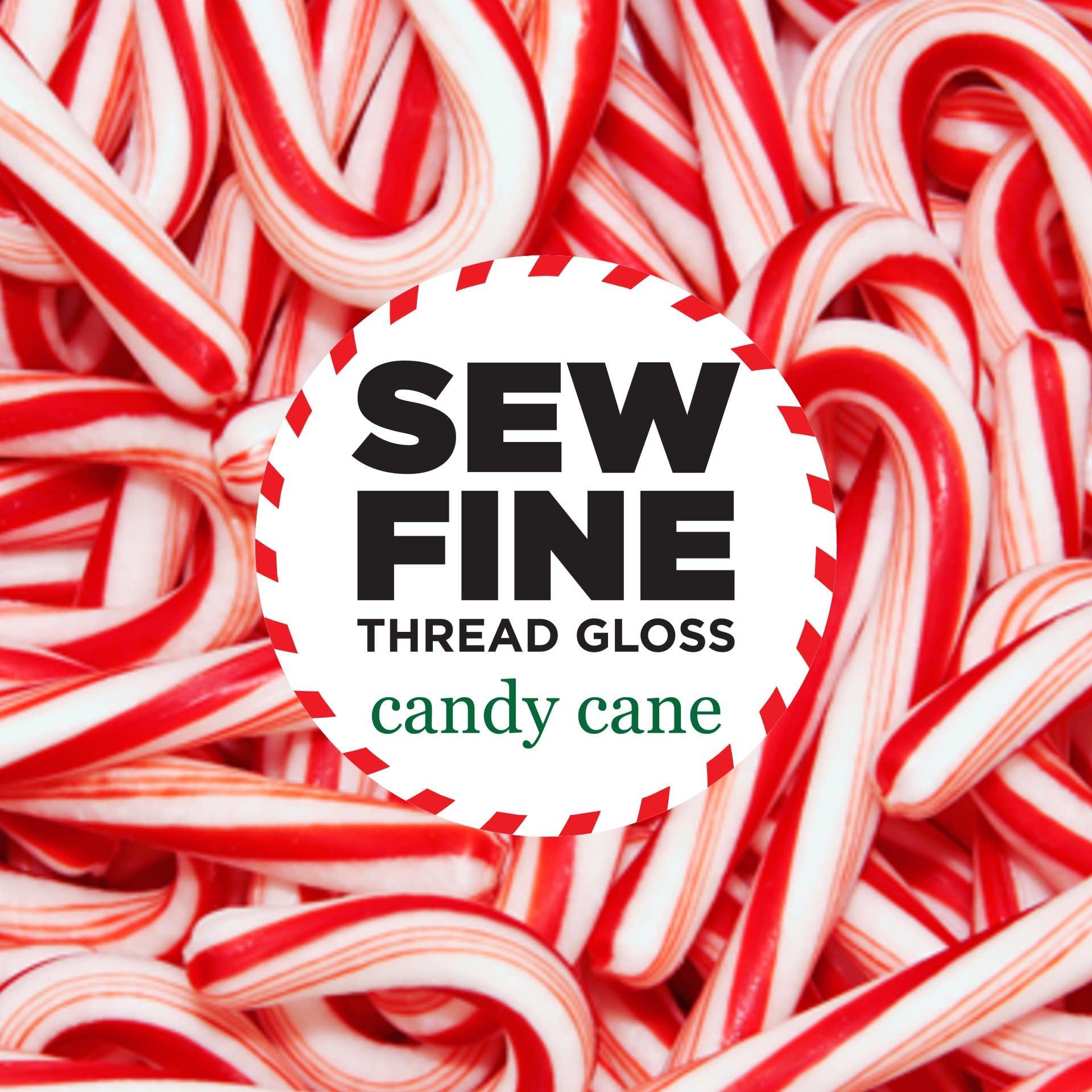 Sew Fine Sew Fine Thread Gloss: Candy Cane 0.5 oz
