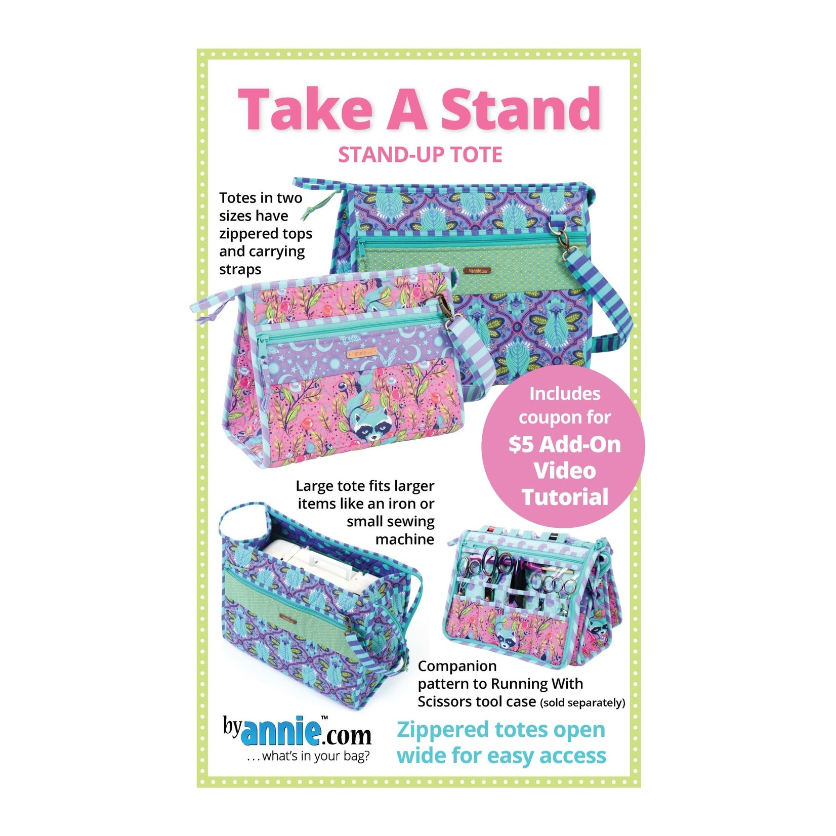 BY ANNIE LARGE TAKE A STAND PATTERN AND KIT