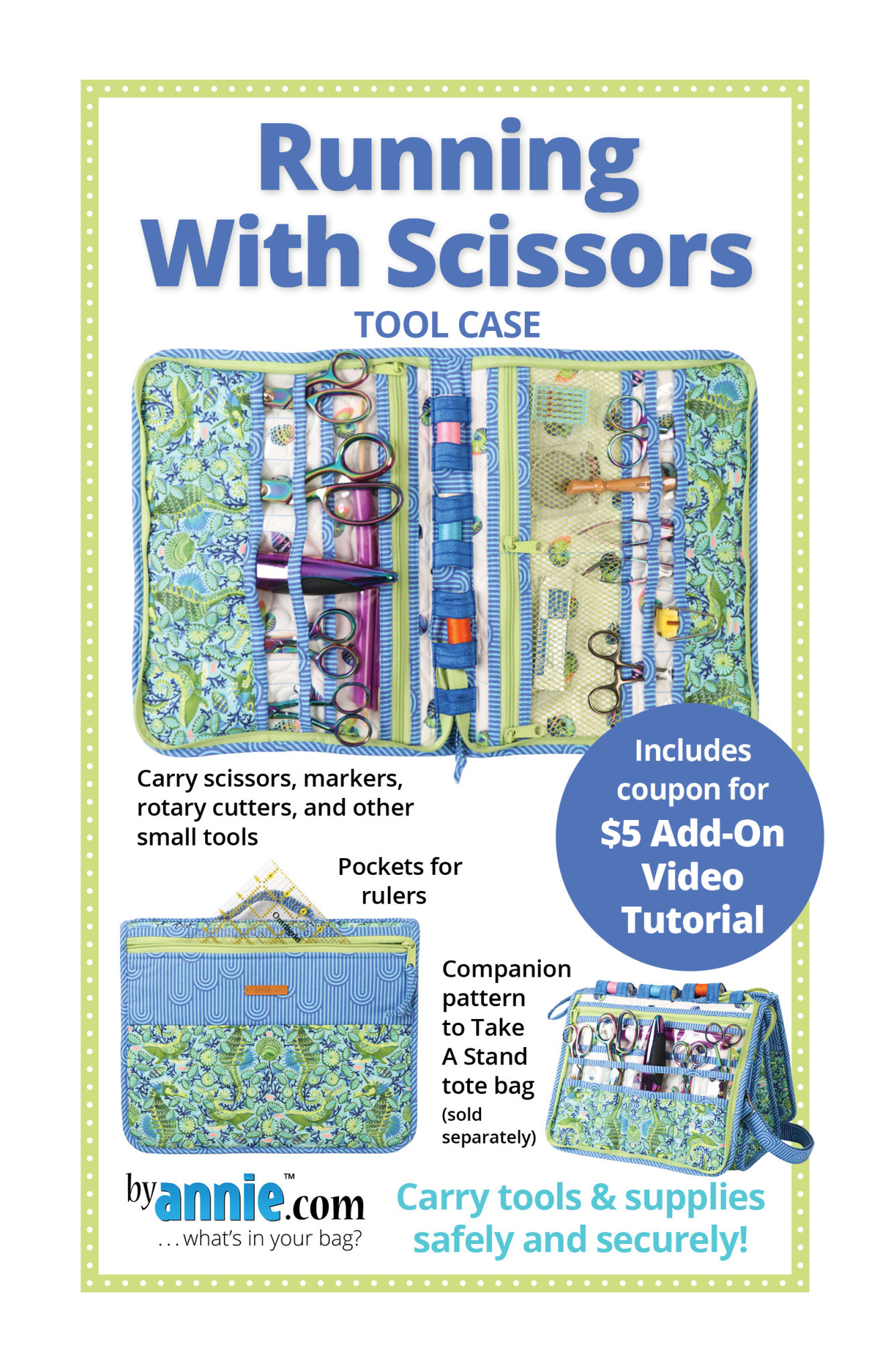BY ANNIE RUNNING WITH SCISSORS PATTERN AND KIT