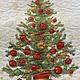 HOLIDAY FLOURISH TREE PANEL