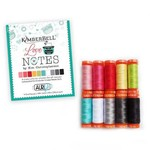Kimberbell Designs Kimberbell Love Notes Thread Collection - Aurifil
