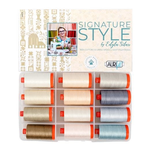 Edyta Sitar Signature Style by Edyta Sitar Thread Collection - Aurifil