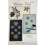 Laundry Basket Quilts WINTER TRIO PATTERN