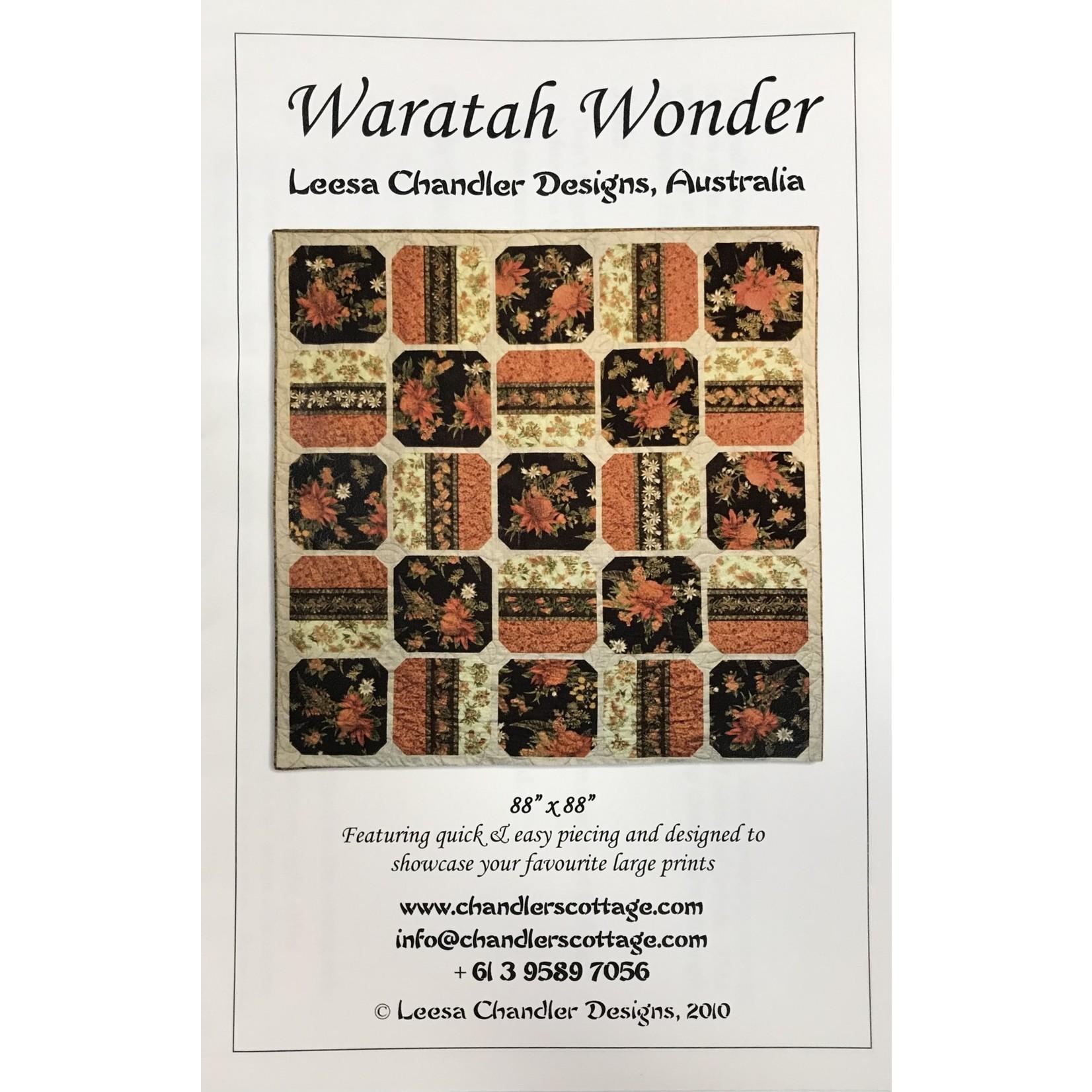 Chandler Cottage Designs WARATAH WONDER PATTERN
