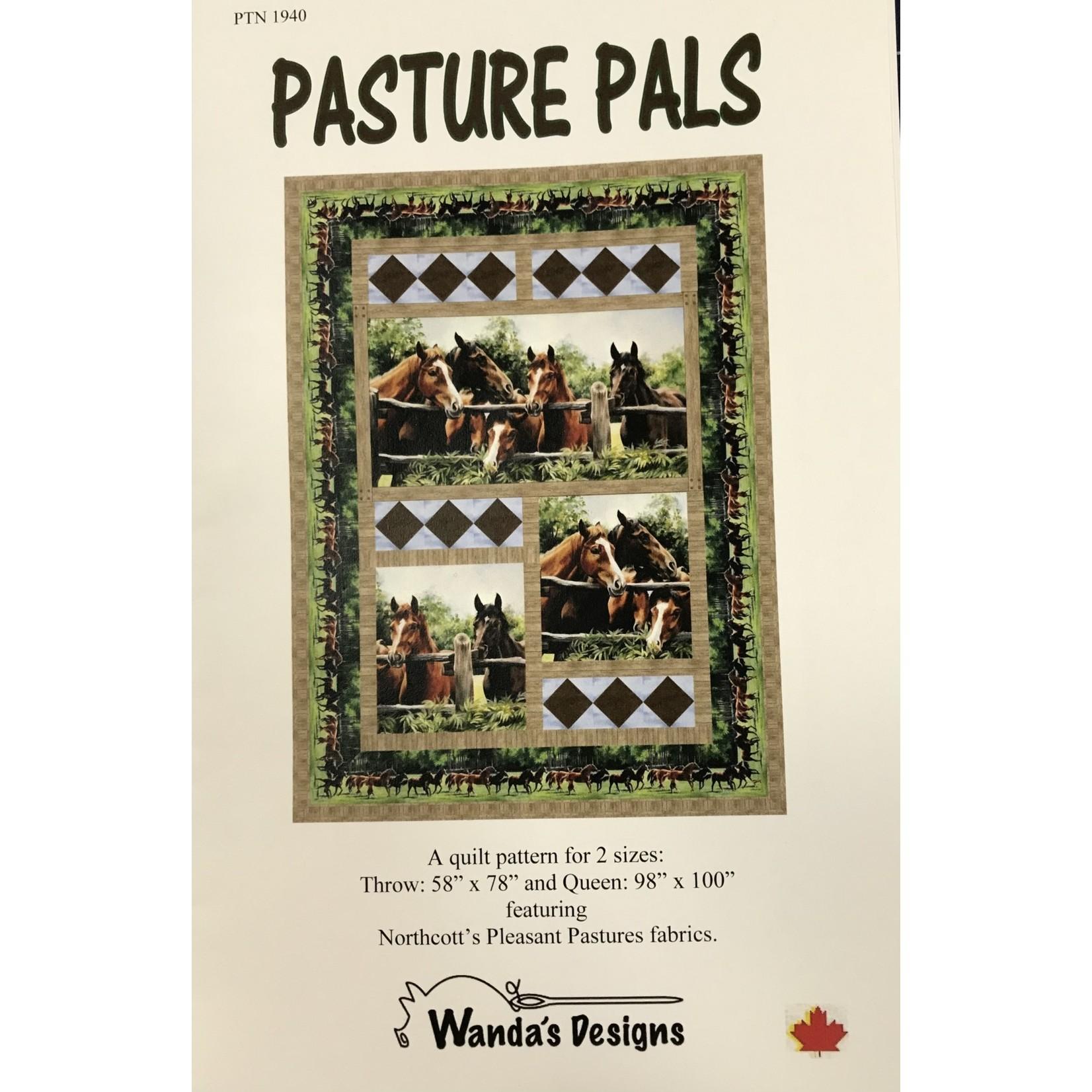 WANDA DESIGNS PASTURE PALS PATTERN