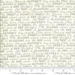 Deb Strain BEE GRATEFUL, SWEET WORDS, PARCHMENT (19963 11) PER CM OR $21/M