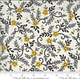 DEB STRAIN BEE GRATEFUL, FLOWER VINES AND BEES , DOVE GREY (19964 14) PER CM OR $21/M