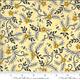 DEB STRAIN BEE GRATEFUL, FLOWER VINES AND BEES , HONEY YELLOW (19964 12) PER CM OR $21/M