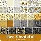 DEB STRAIN BEE GRATEFUL, LAYER CAKE, 42 PCS