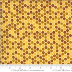 DEB STRAIN BEE GRATEFUL,HONEYCOMB,  HONEY YELLOW (19966 12) PER CM OR $21/M