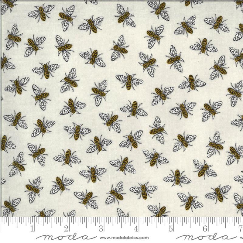 DEB STRAIN BEE GRATEFUL,BUZZ,  DOVE GREY (19965 14) PER CM OR $21/M