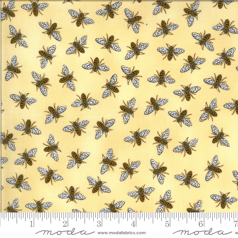 DEB STRAIN BEE GRATEFUL,BUZZ,  HONEY YELLOW (19965 12) PER CM OR $21/M
