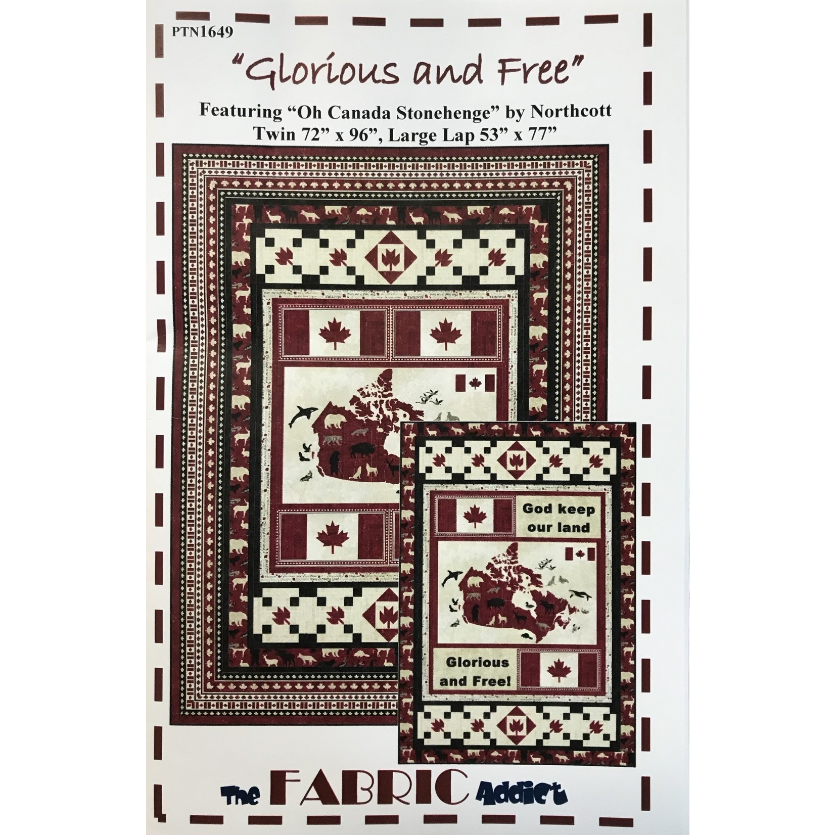 The Fabric Addict GLORIOUS AND FREE PATTERN
