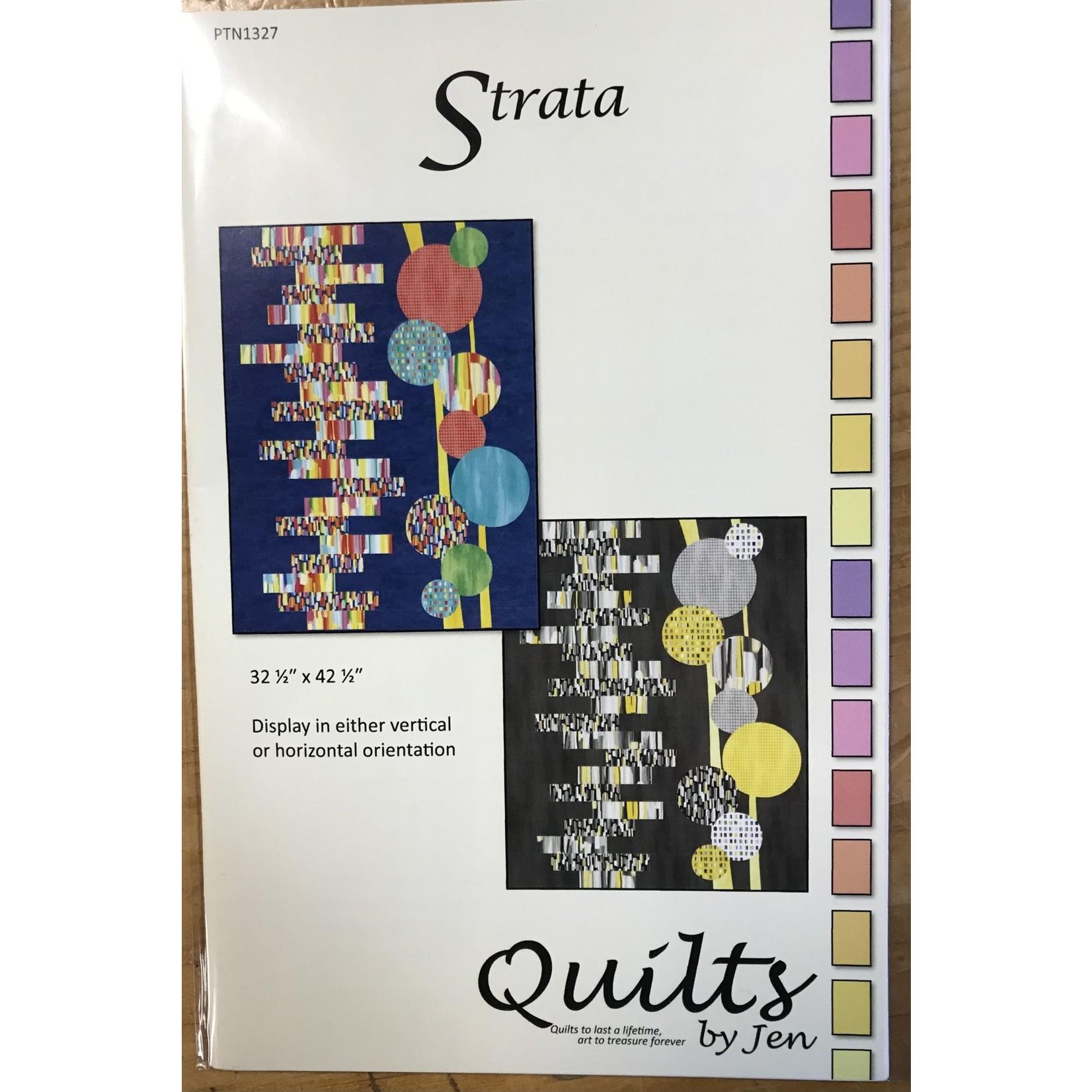 QUILTS BY JEN STRATA PATTERN
