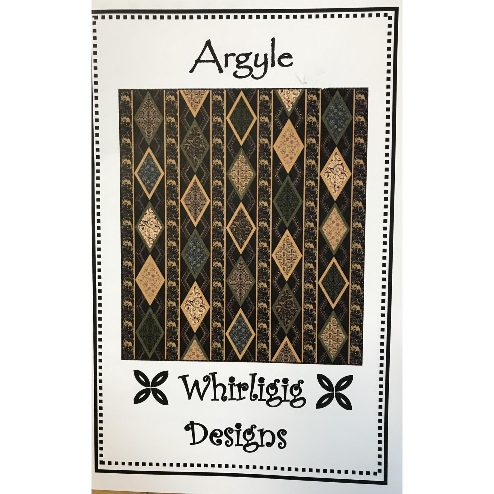 Whirligig Designs ARGYLE PATTERN