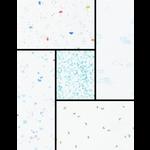 Robert Kaufman A LITTLE RAIN - BLUE SKIES & BUTTERFLIES - 5 PCS