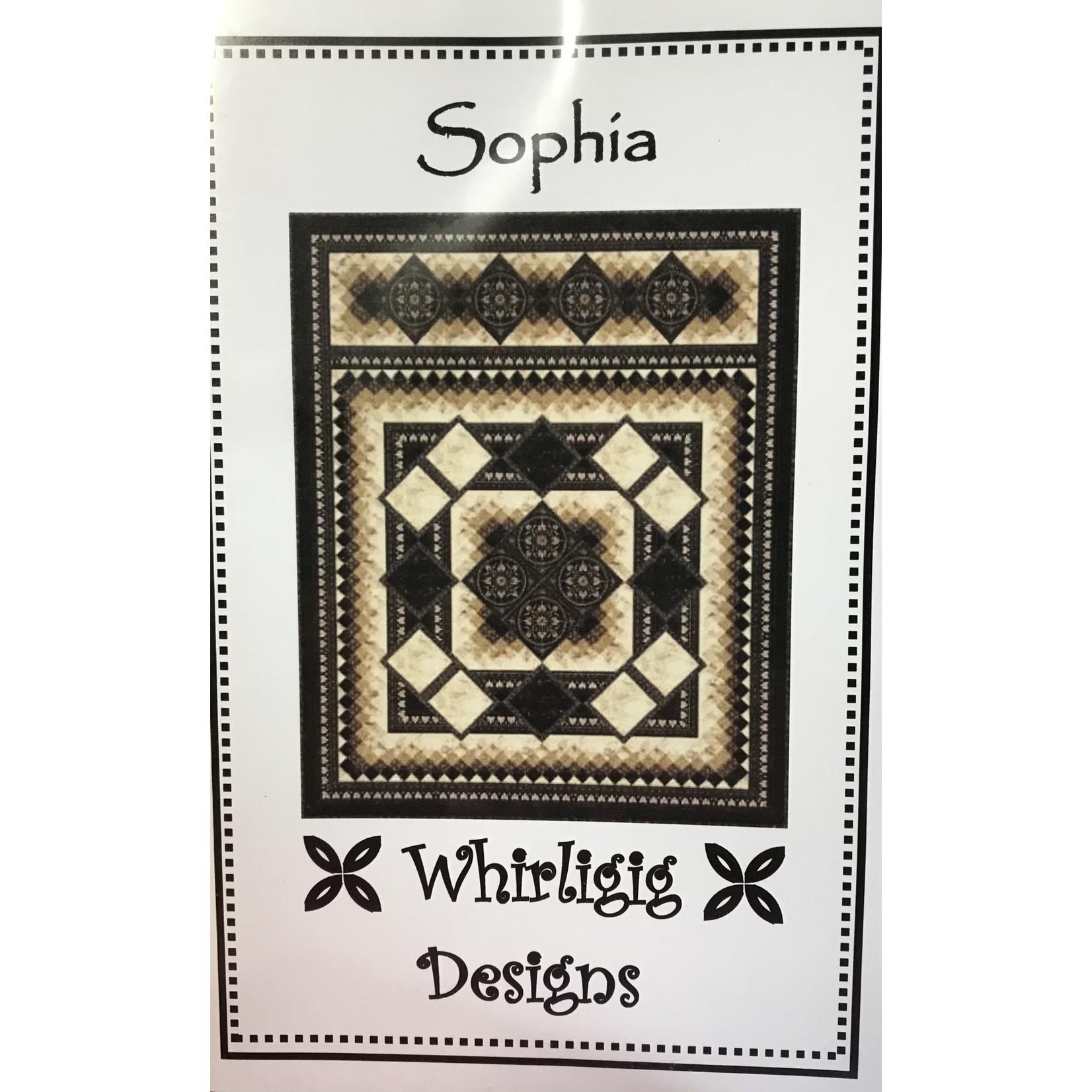 WHIRLIGIG DESIGNS SOPHIA PATTERN