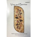 Laundry Basket Quilts VINE AND BERRIES PATTERN