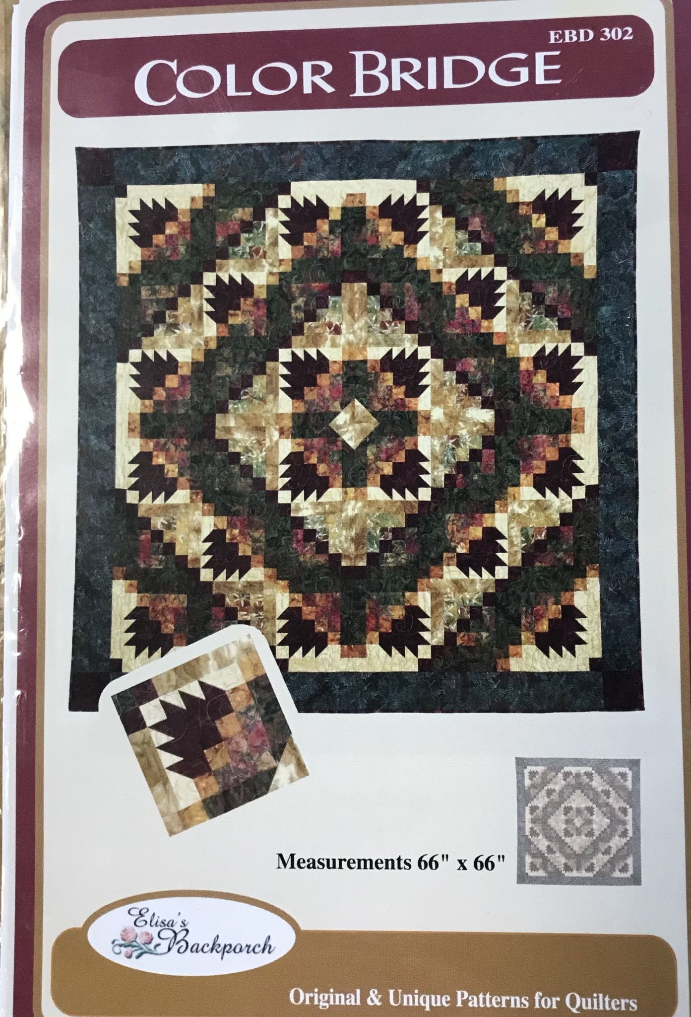 ELISA'S BACKPORCH DESIGNS COLOR BRIDGE PATTERN