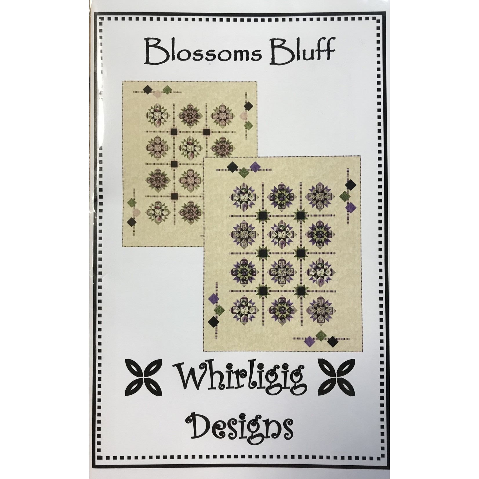 Whirligig Designs BLOSSOM BLUFF PATTERN