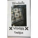 WHIRLIGIG DESIGNS WINDMILLS PATTERN
