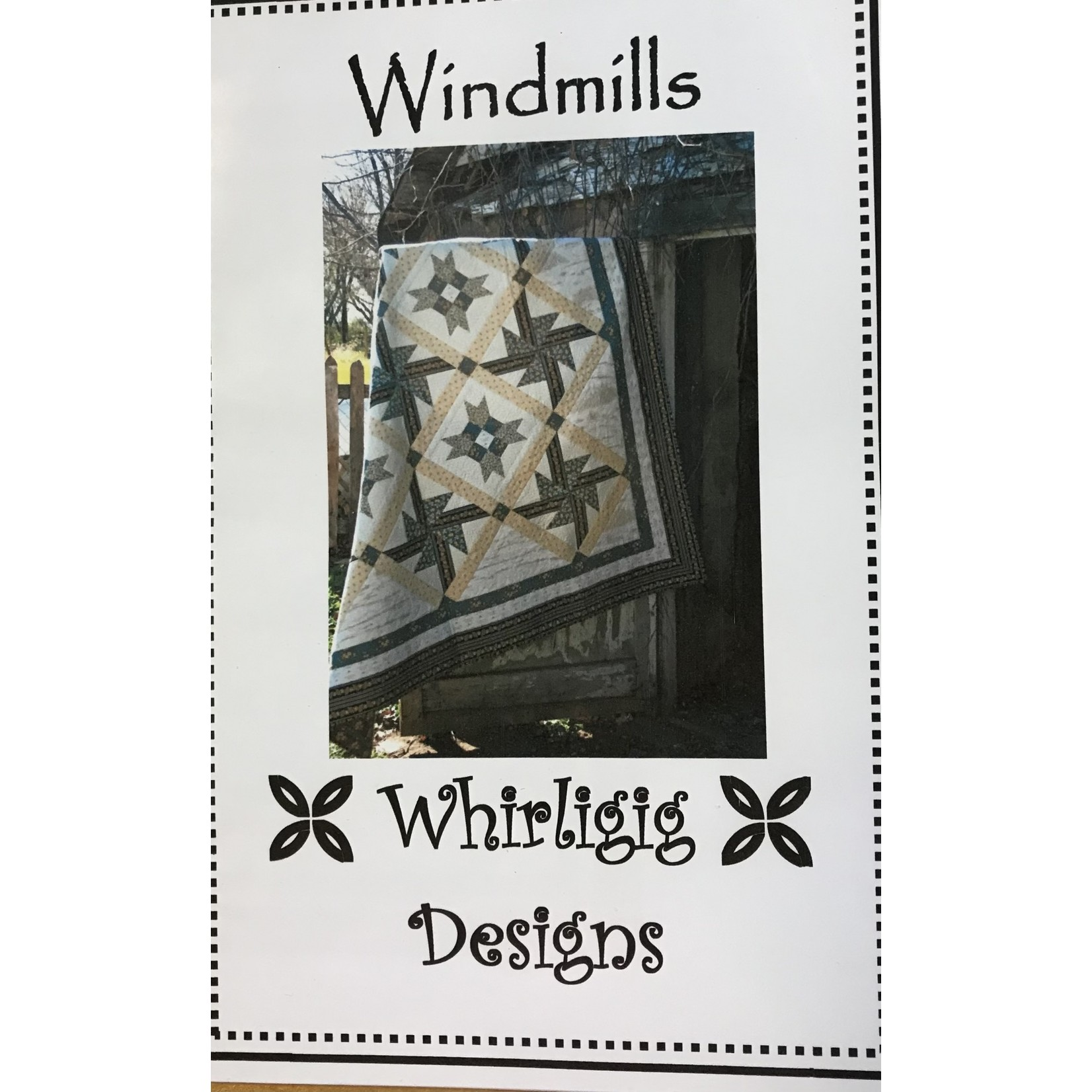 WHIRLIGIG DESIGNS WINDMILLS PATTERN