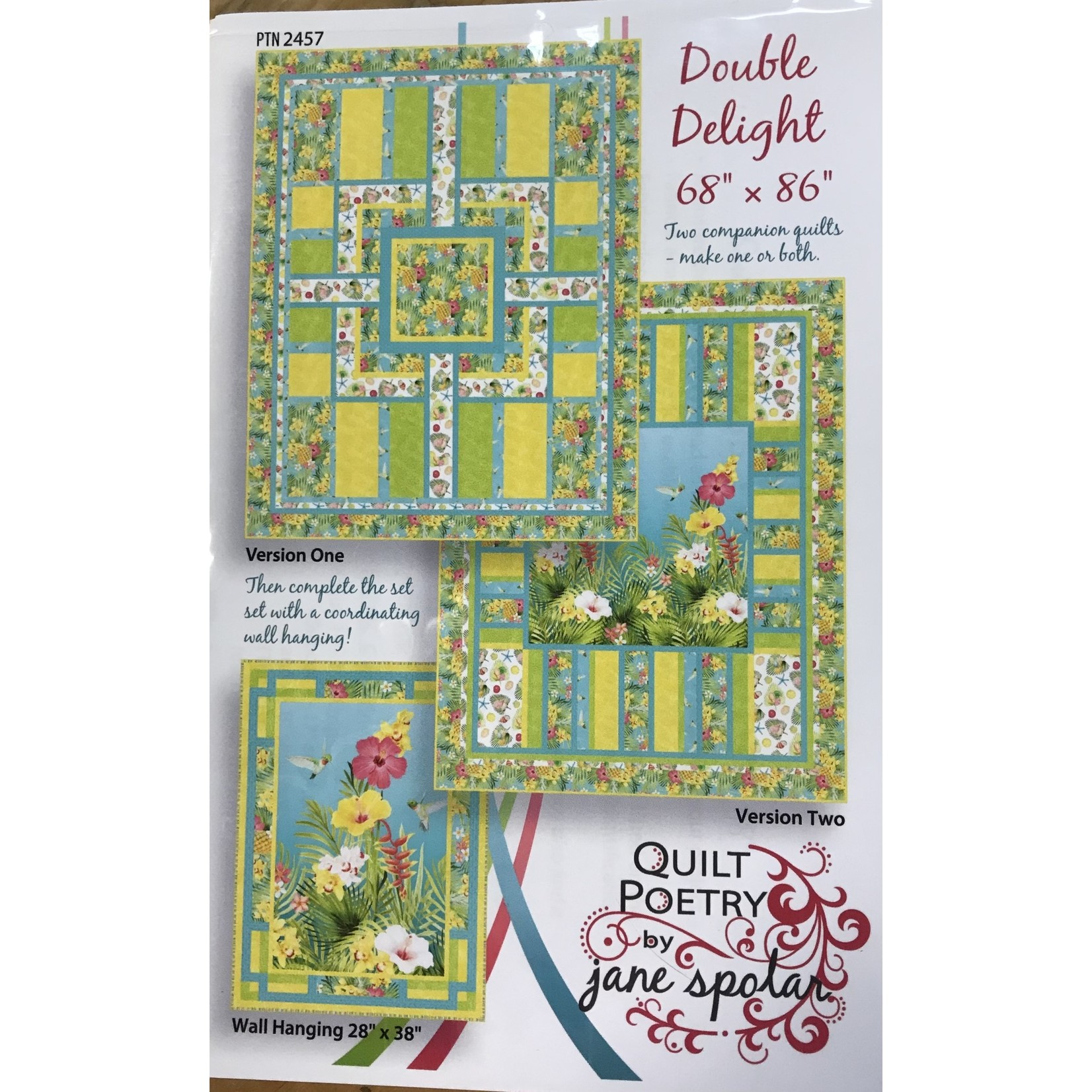 Quilt Poetry DOUBLE DELIGHT PATTERN