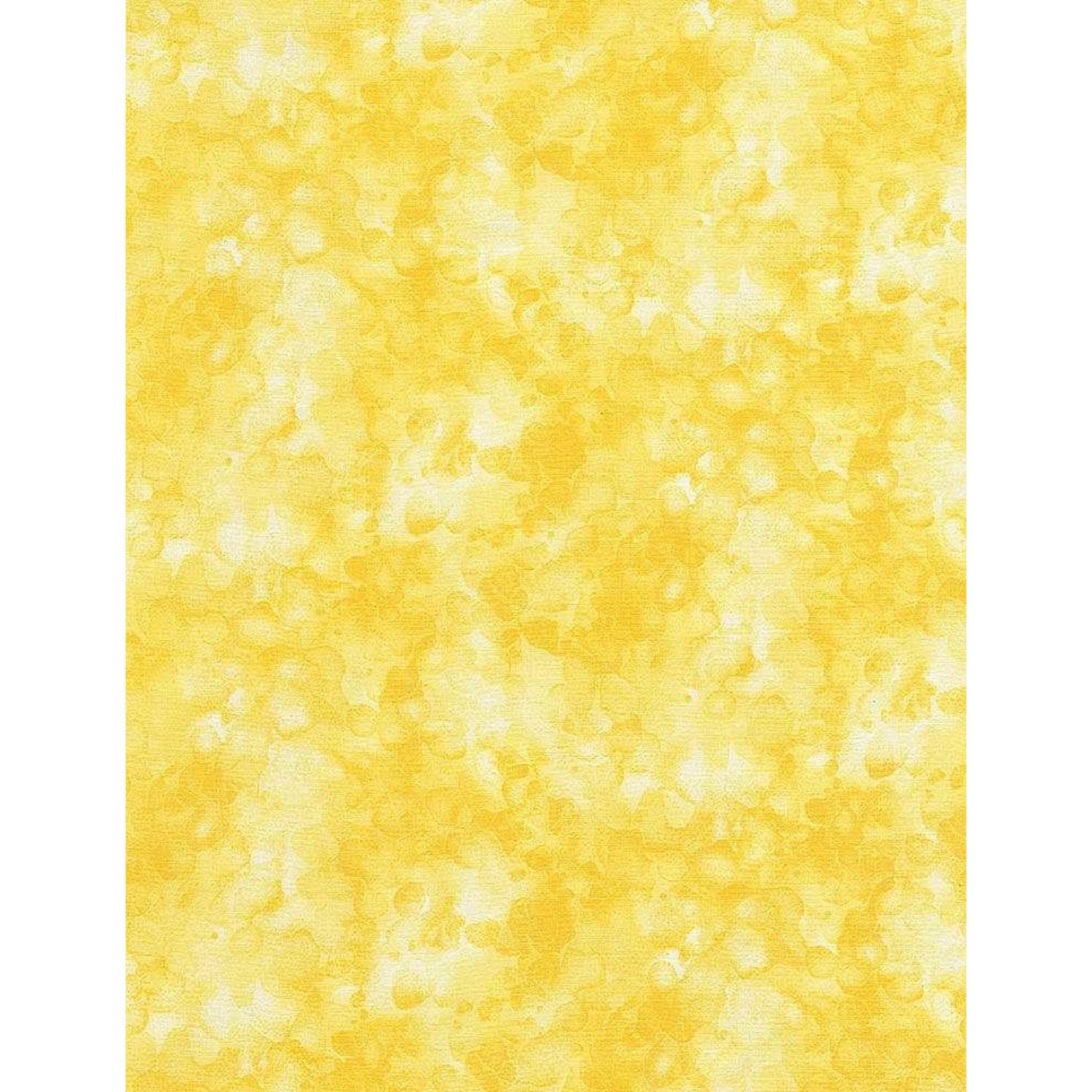 Timeless Treasures I LOVE YOU TO THE MOON AND BACK, SOLID-ISH TEXTURE, LEMON PER CM OR $20/M