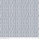 RILEY BLAKE DESIGNS Hungry Animal Alphabet, Wavy Stripe, Blue per cm or $20/m