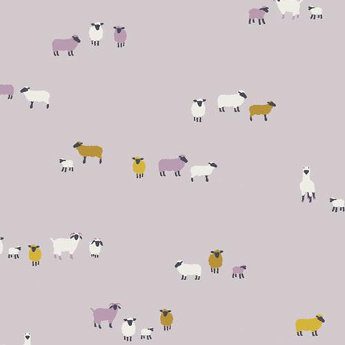 ART GALLERY Hooked by Mister Domestic, Wool Origins (22656) per cm or $20/m