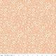 RILEY BLAKE DESIGNS MEADOW LANE, FLORAL IMPRINT, MELON C10125 PER CM OR $20/M