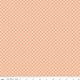 RILEY BLAKE DESIGNS MEADOW LANE, DASHED DAISIES, MELON C10124 PER CM OR $20/M