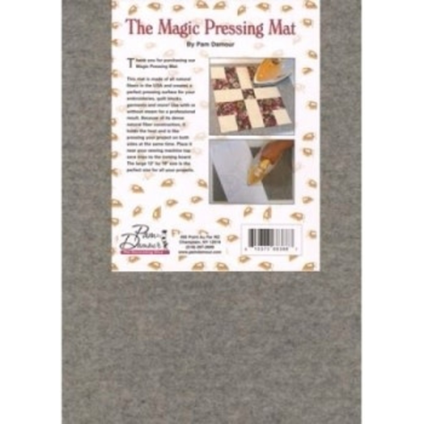 """Pam Damour Magic Pressing Mat by Pam Damour 12x18"""""""
