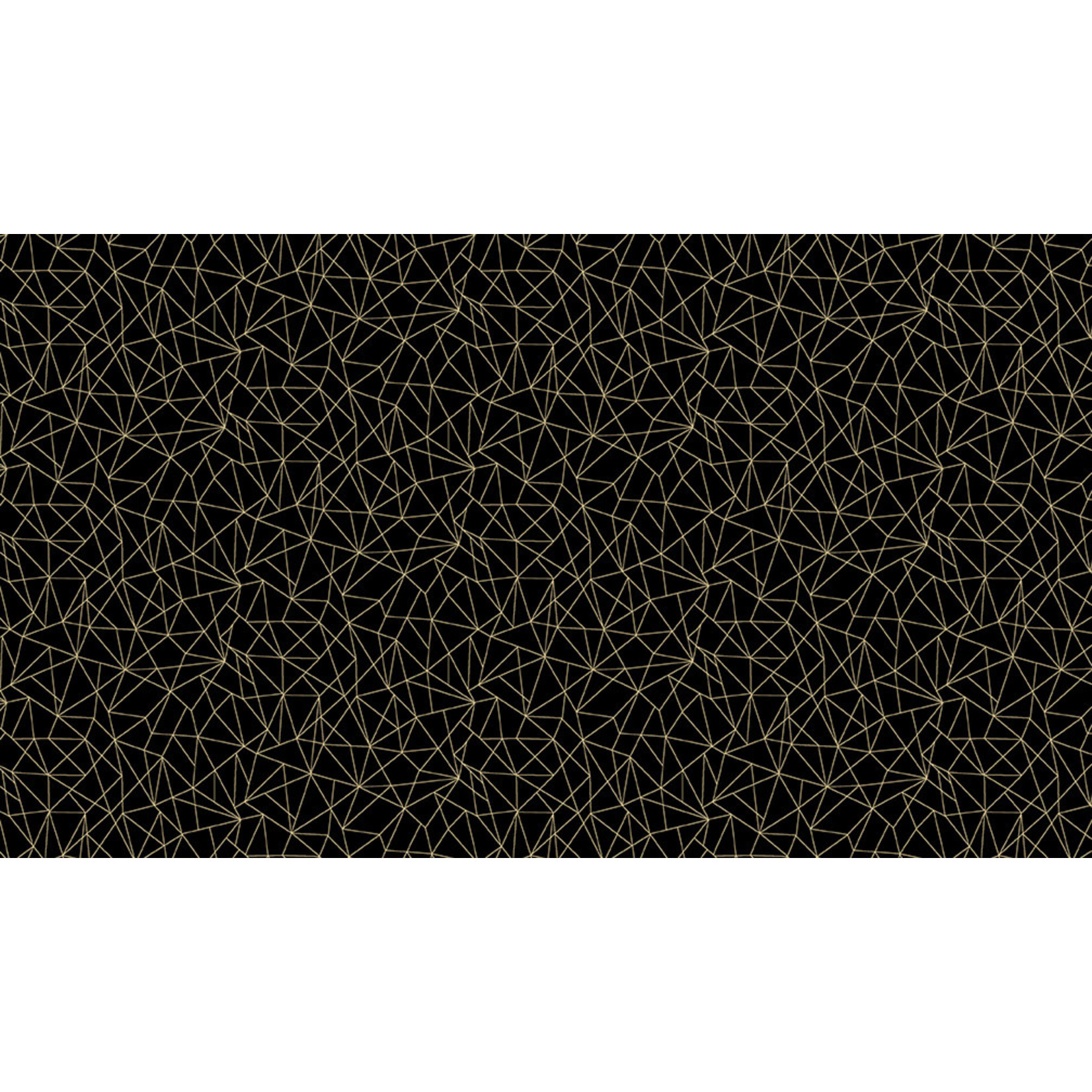 MAKOWER Folk Friends, Linework, Black (2307-X) per cm or $20/m