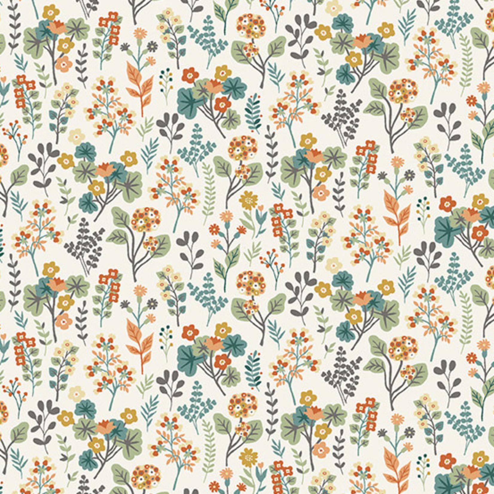 MAKOWER Claras Garden, Plants, Cream per cm or $20/m
