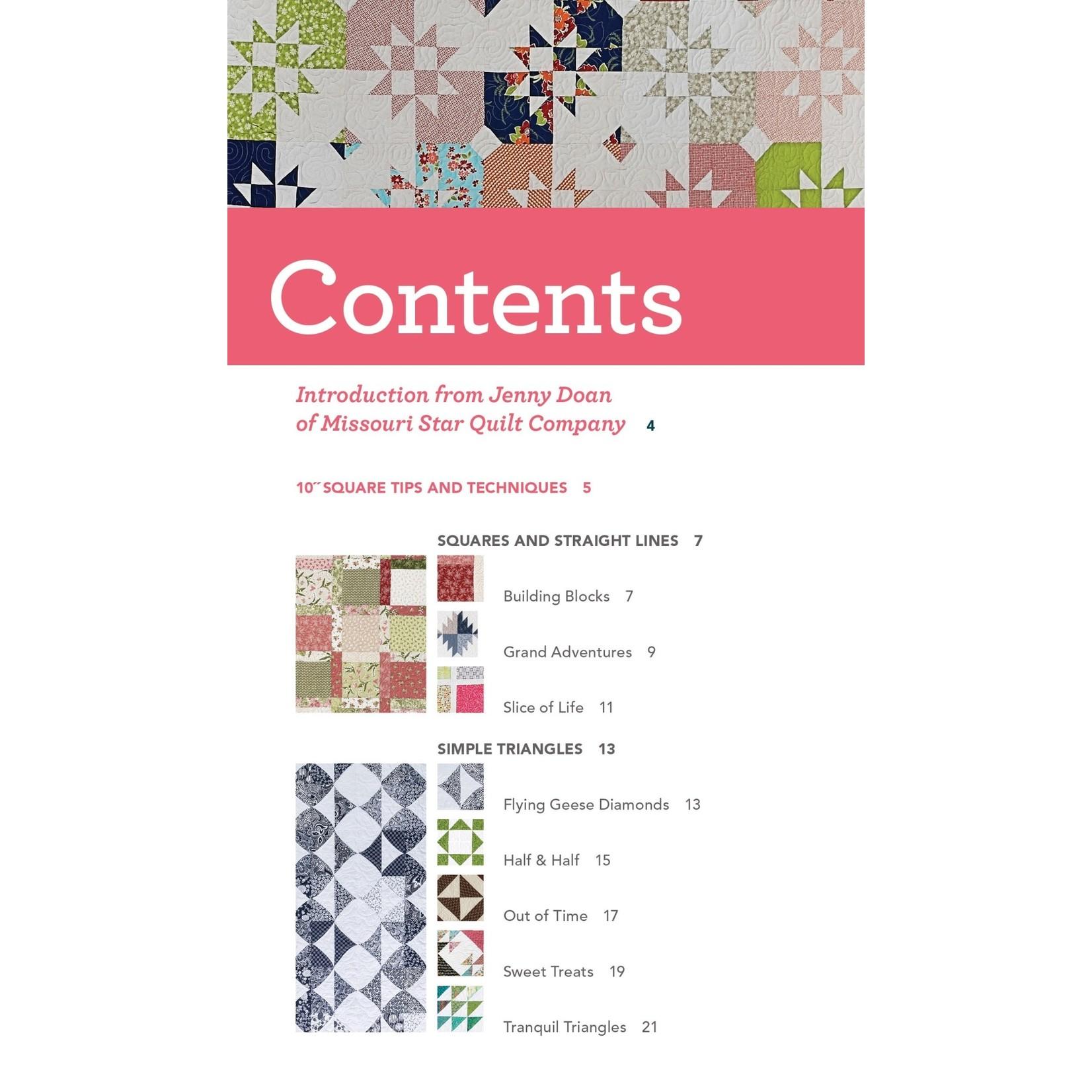 C&T PUBLISHING Quilter's 10 inch Square Precut Companion