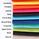 "BY ANNIE Lightweight Mesh Fabric Package Rainbow 18"" x 54"""