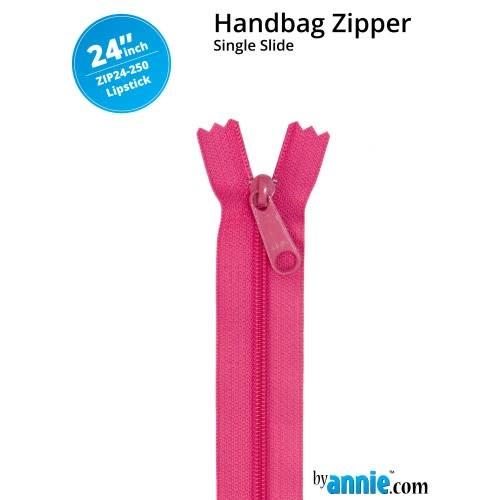 "BY ANNIE Handbag Zipper 24"" Rainbow"