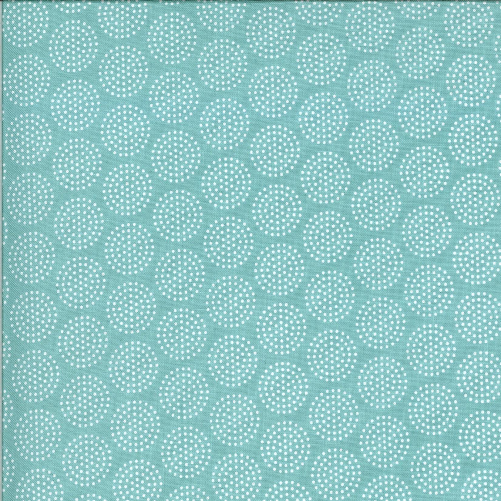 Sweetwater Animal Crackers, Circles, Splash (Brushed Cotton) per cm or $20/m