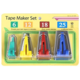 BIAS TAPE MAKER SET (6MM, 12MM, 18MM, 25MM)