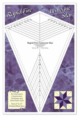 STUDIO 180 DESIGN RAPID FIRE LEMOYNE STAR RULER