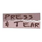 MARATHON PRESS N TEAR (Sticky Stabilizer) PER CM OR $6/M