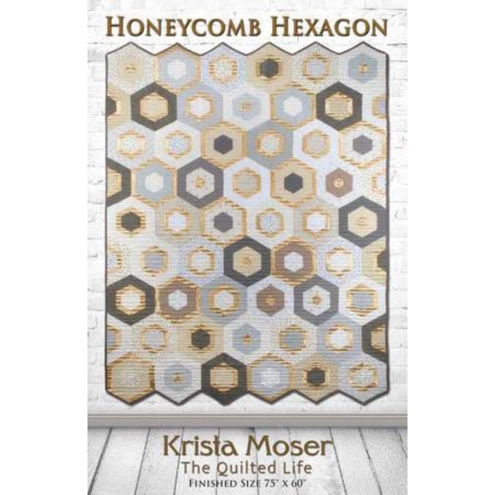 The Quilted Life Honeycomb Hexagon